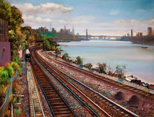 Tracks Along the Hudson-III