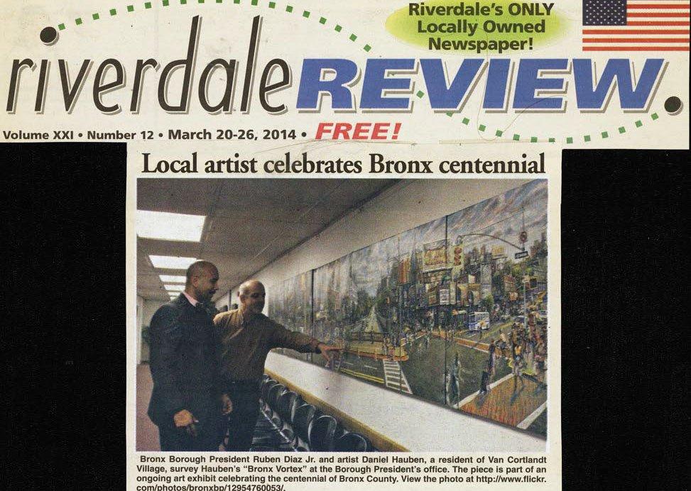 2014 0320 Riverdale Review Boro Pres Office exhib web