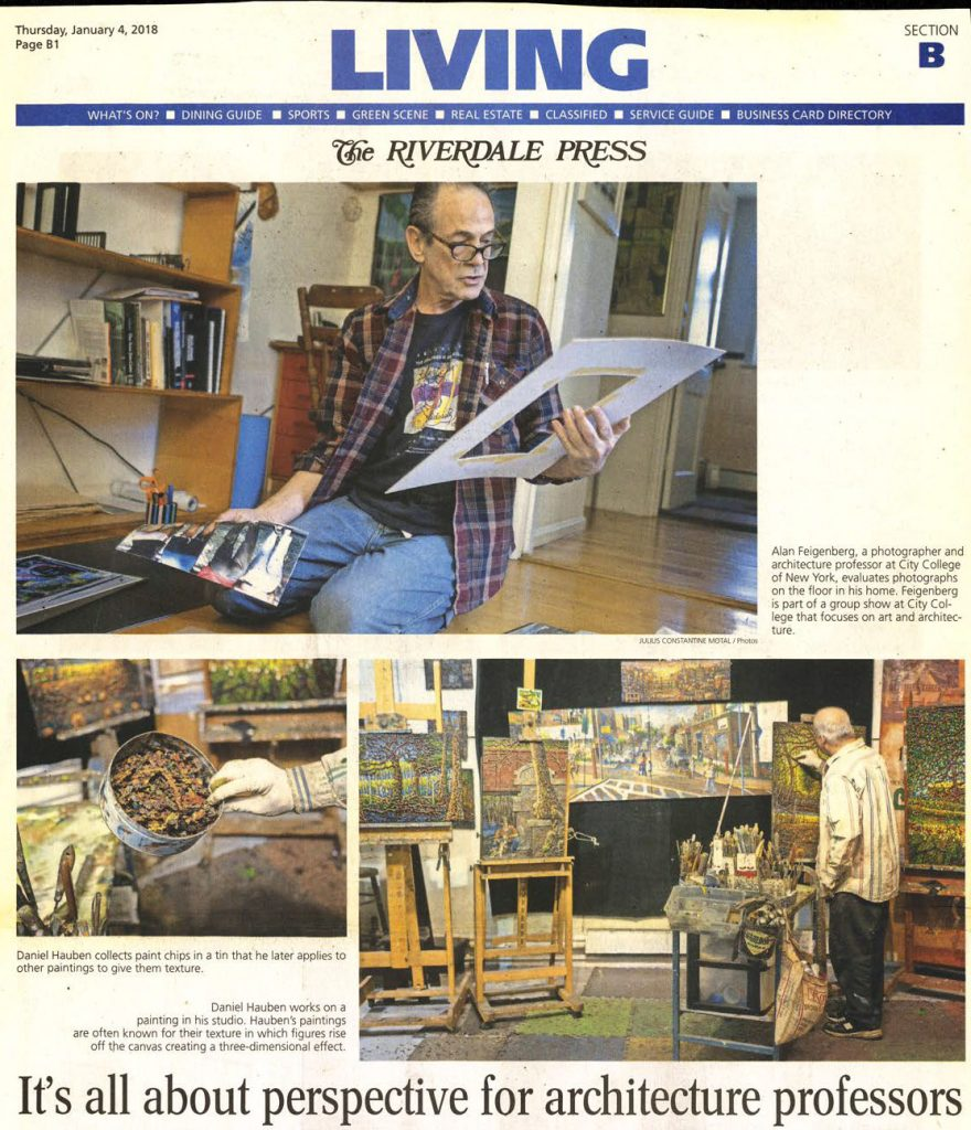 Riverdale Press CCNY Arch Teachers article web on Daniel Hauben